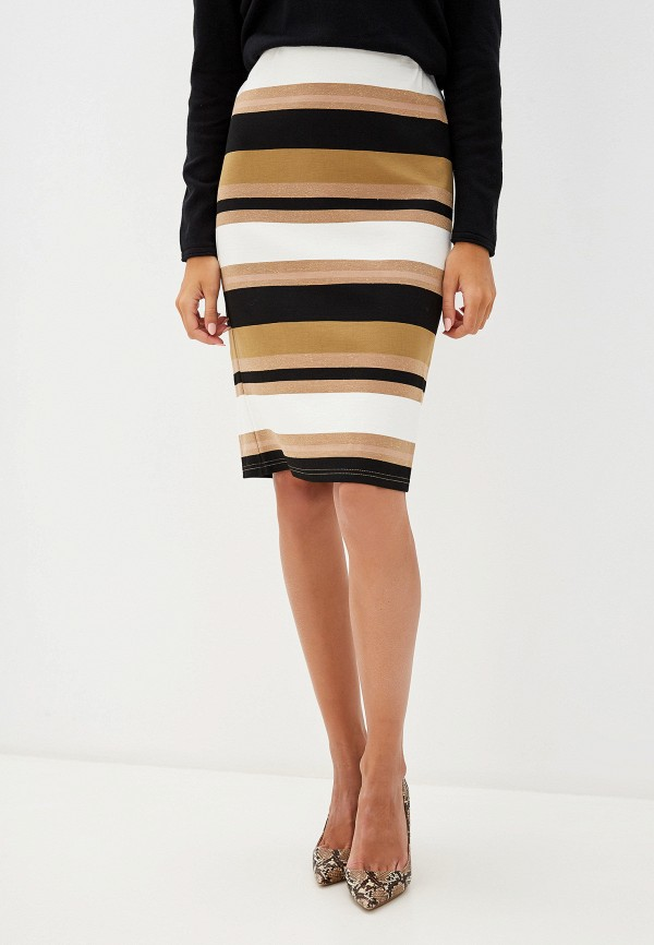 женская зауженные юбка savage, коричневая