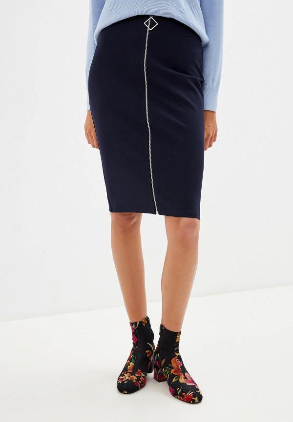 женская зауженные юбка savage, синяя