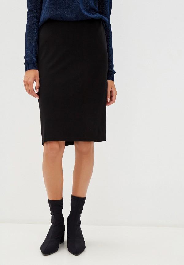 женская зауженные юбка savage, черная
