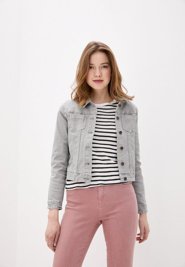 женская джинсовые куртка savage, серая