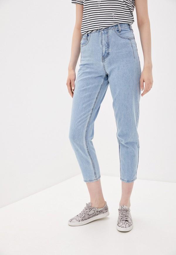 женские прямые джинсы savage, голубые