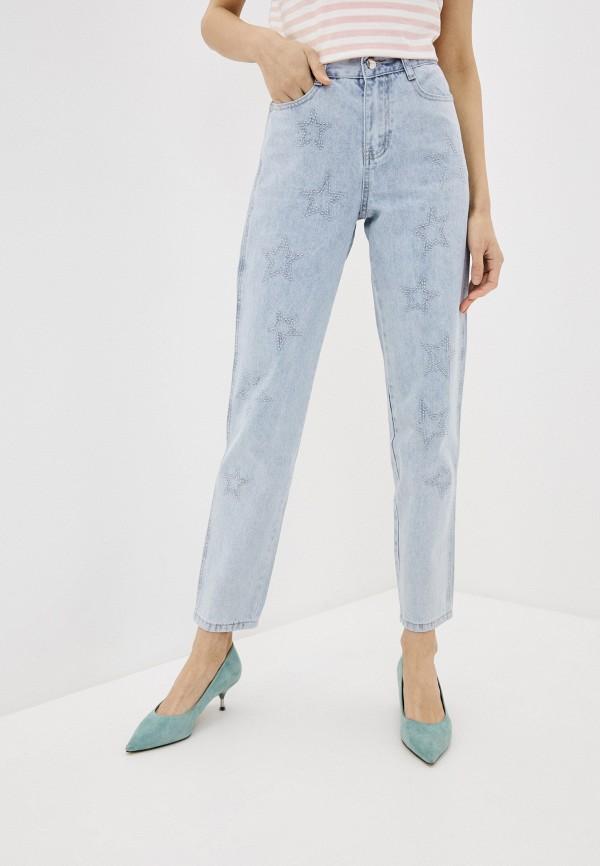 женские джинсы savage, голубые