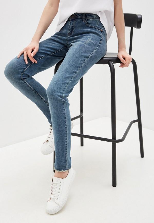 женские джинсы savage, синие