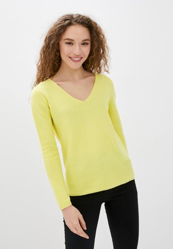 женский пуловер savage, желтый