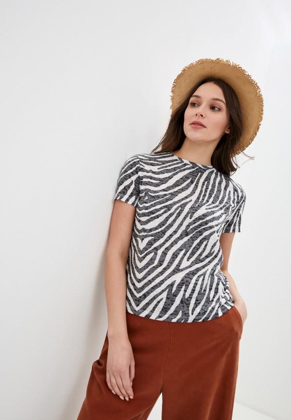 женская футболка savage, разноцветная