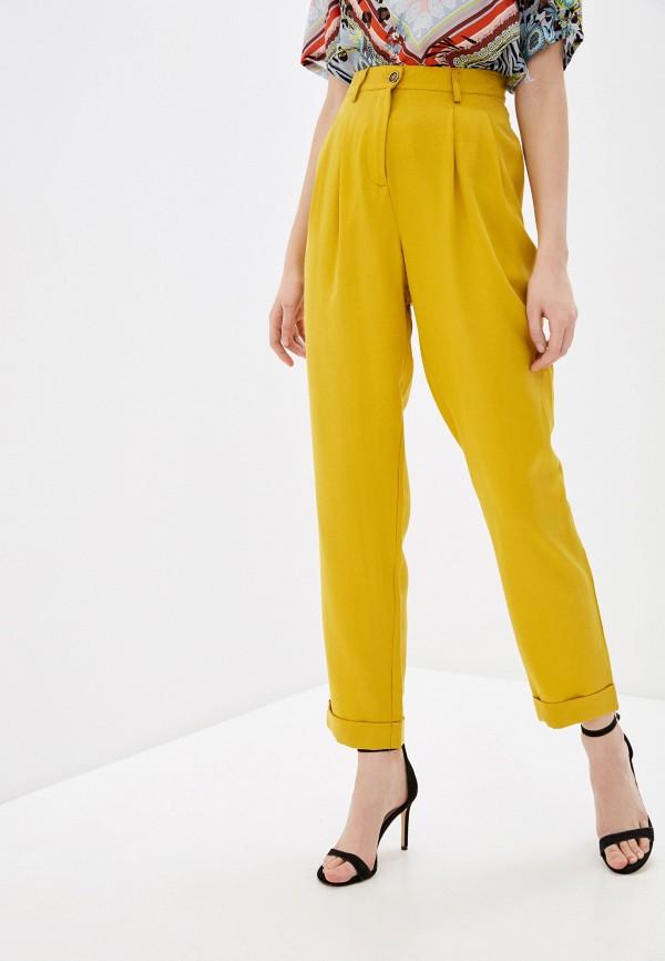 женские повседневные брюки savage, желтые