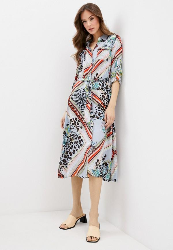женское платье savage, разноцветное