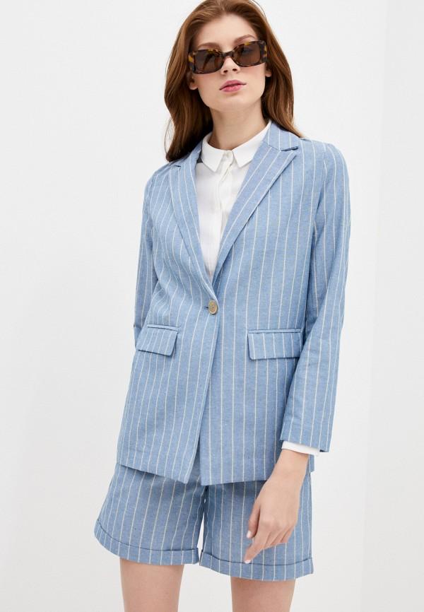 женский пиджак savage, голубой