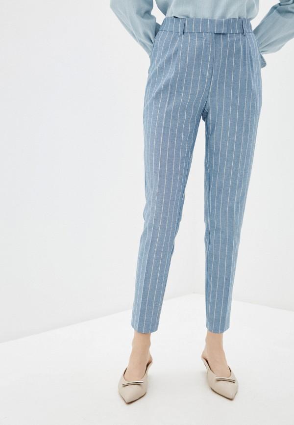 женские повседневные брюки savage, голубые