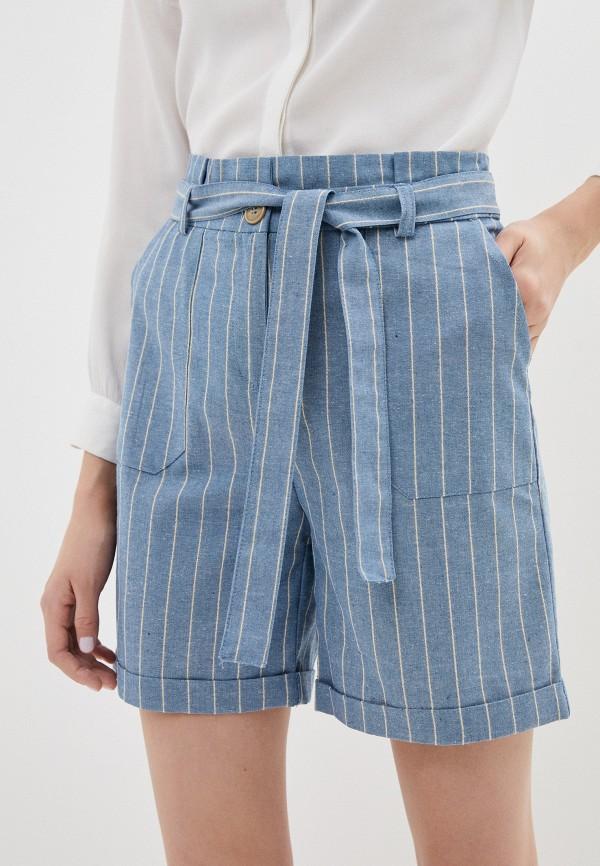 женские повседневные шорты savage, голубые