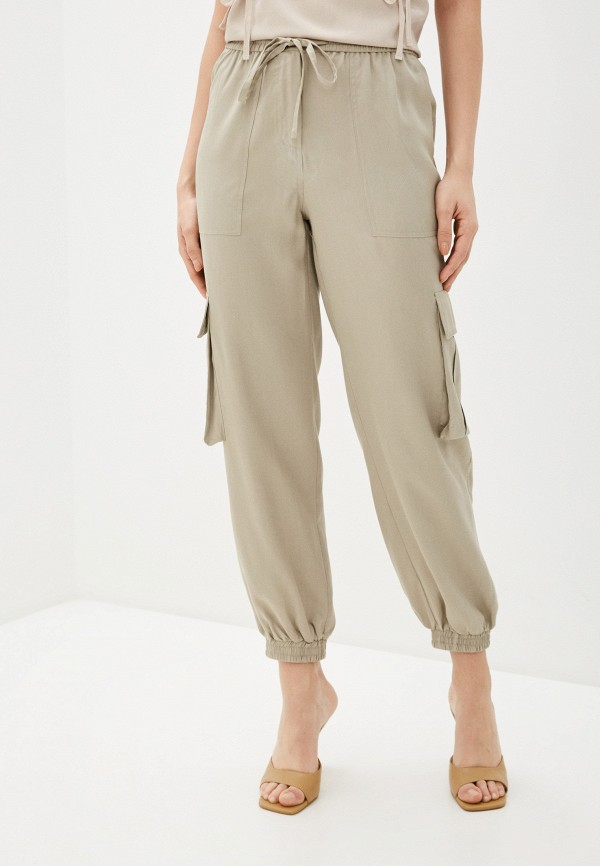 женские брюки savage, бежевые