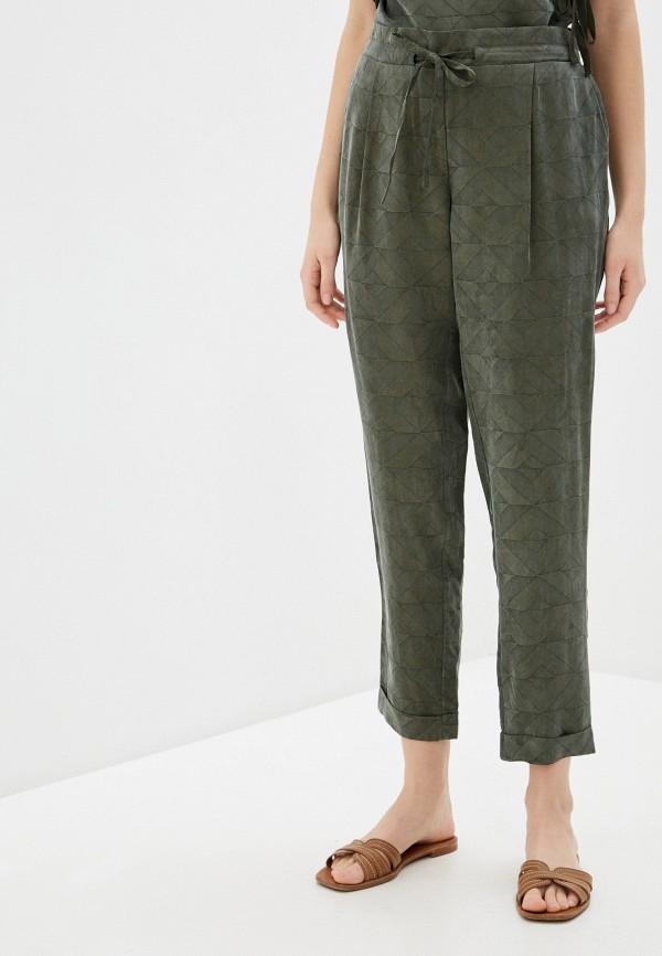 женские зауженные брюки savage, хаки