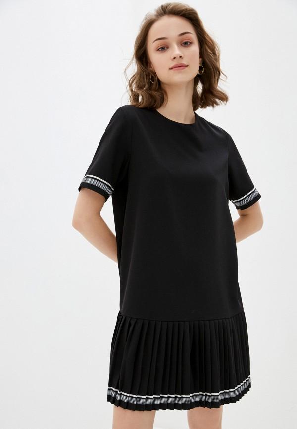 женское повседневные платье savage, черное