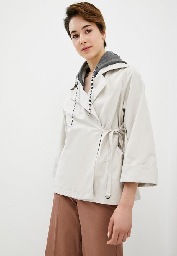 женская куртка savage, бежевая