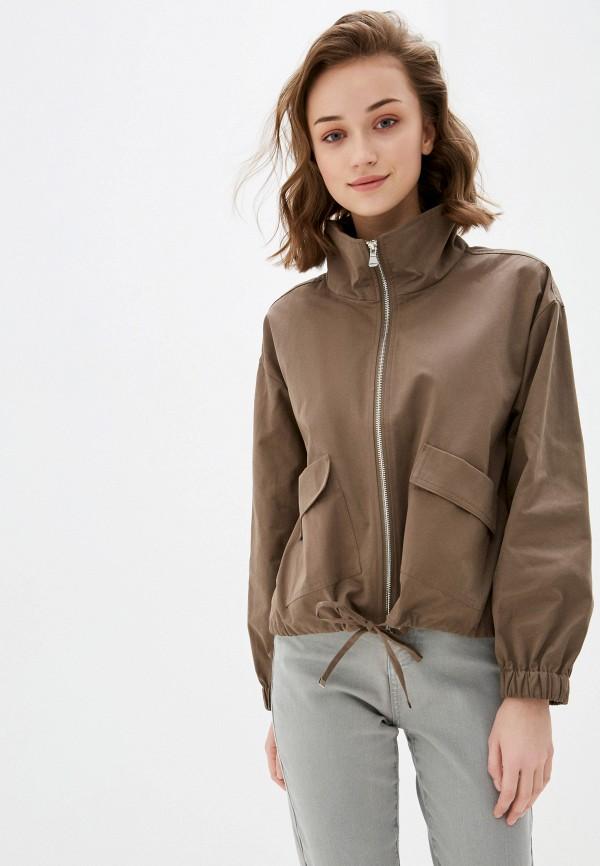 женская куртка savage, коричневая