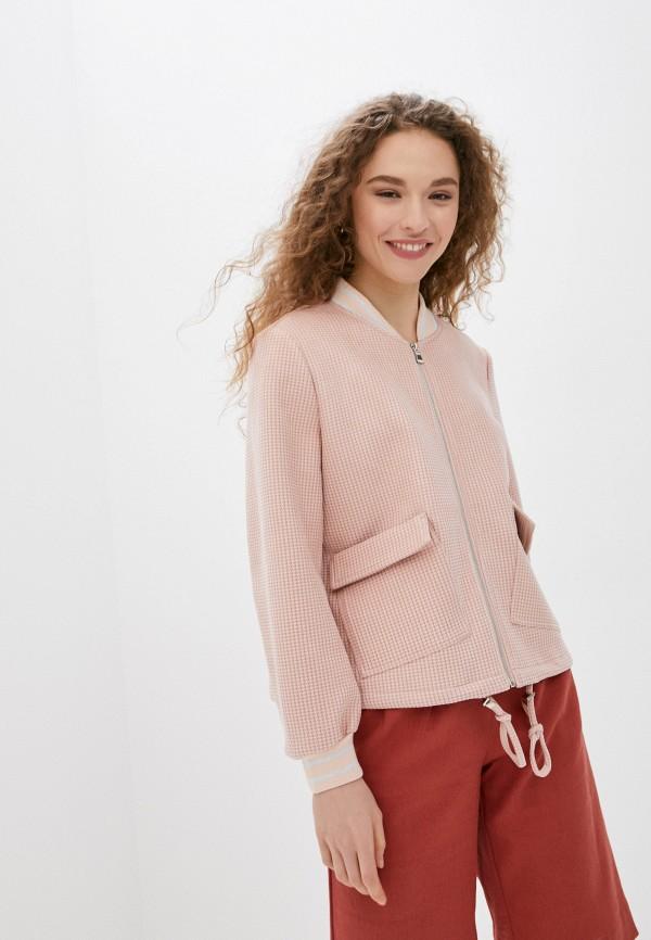женская куртка savage, розовая