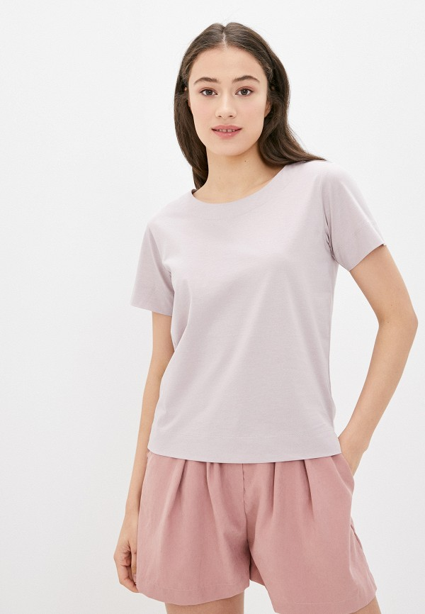 женская футболка savage, фиолетовая