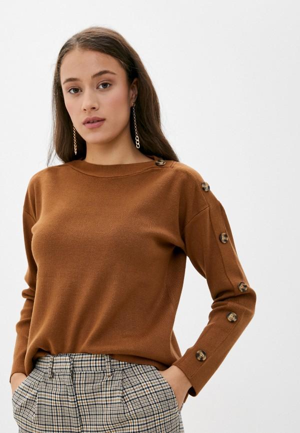 женский джемпер savage, коричневый
