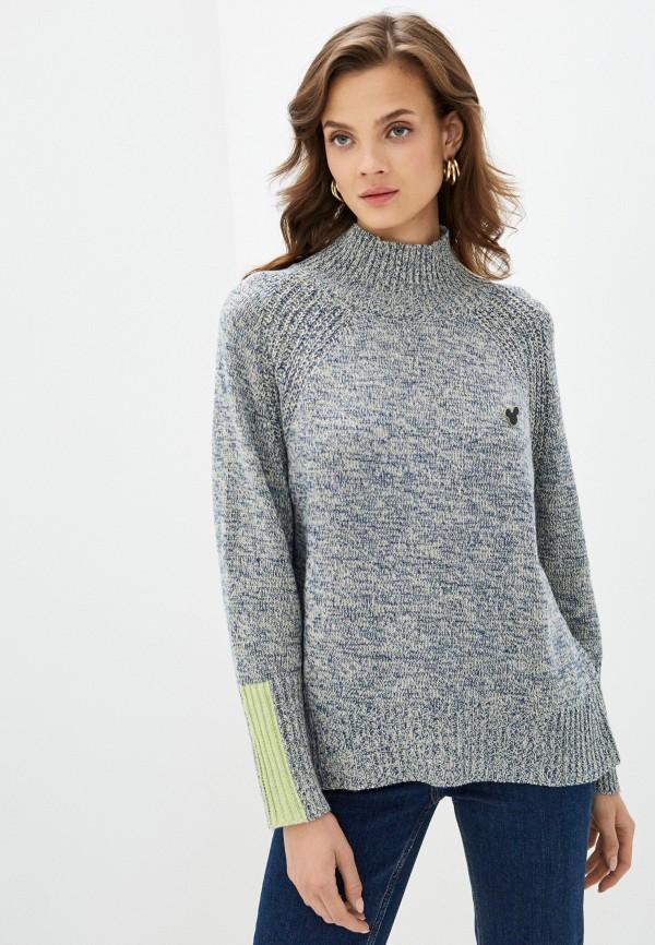 женский свитер savage, синий