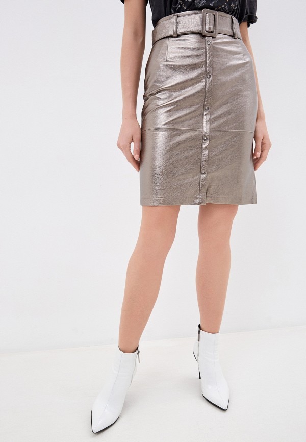 женская юбка savage, коричневая
