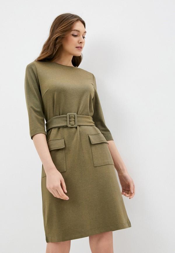 женское повседневные платье savage, хаки