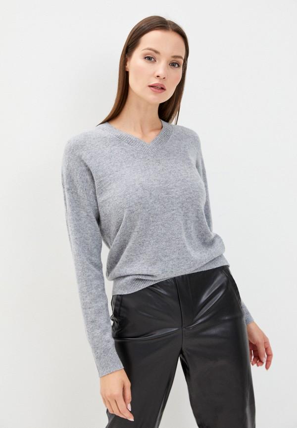 женский пуловер savage, серый