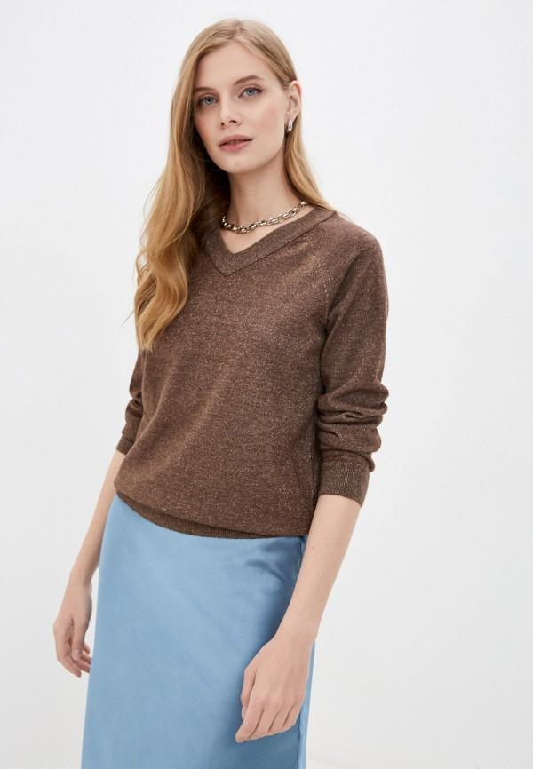 женский пуловер savage, коричневый