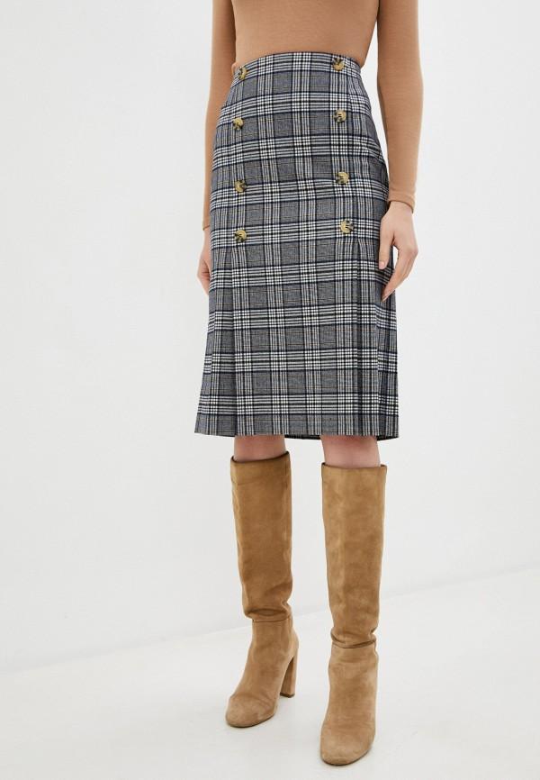 женская прямые юбка savage, серая