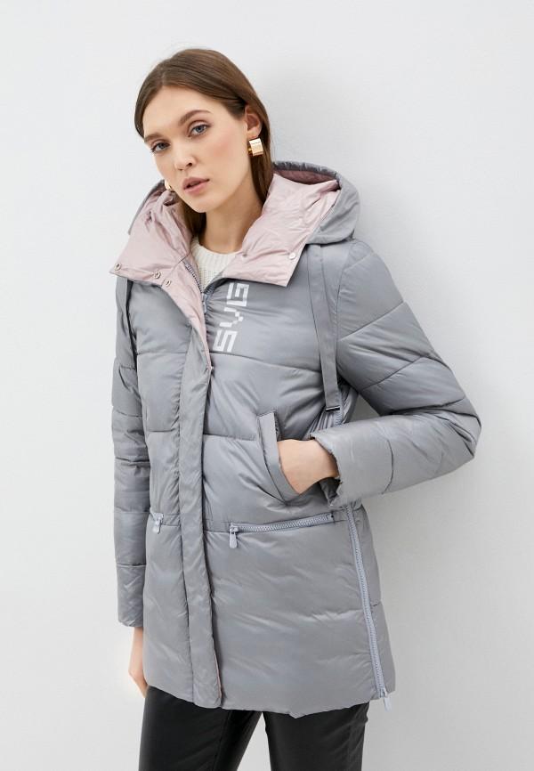 женская куртка savage, серая
