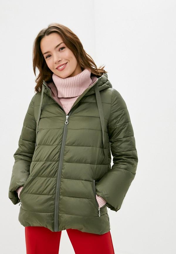 женская куртка savage, зеленая