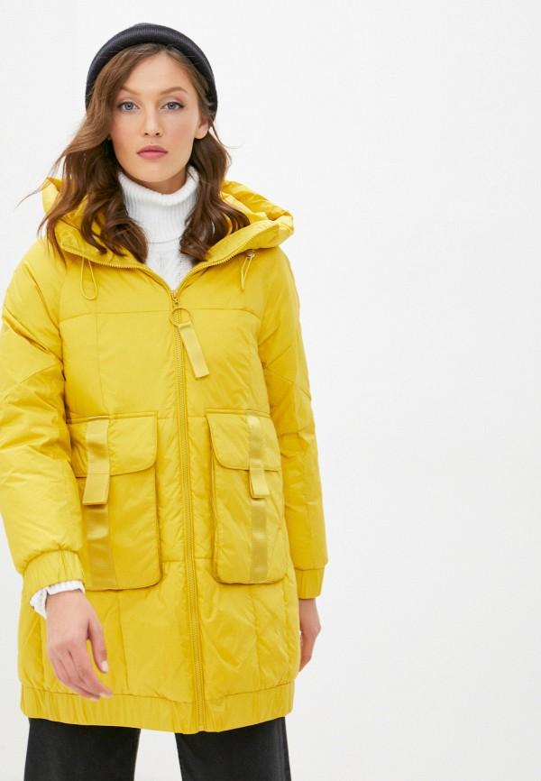 женская куртка savage, желтая