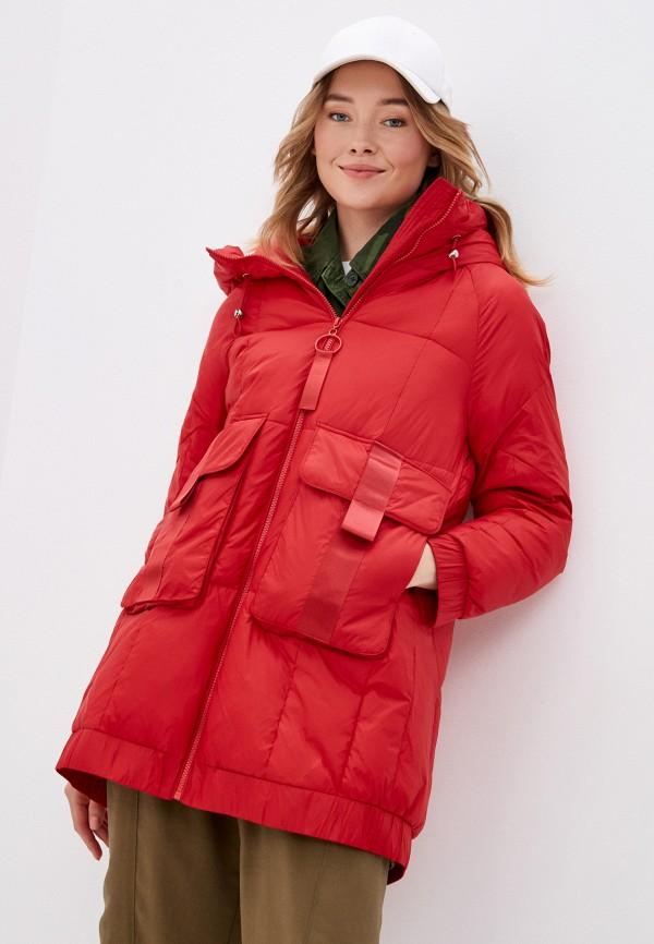 женская куртка savage, красная
