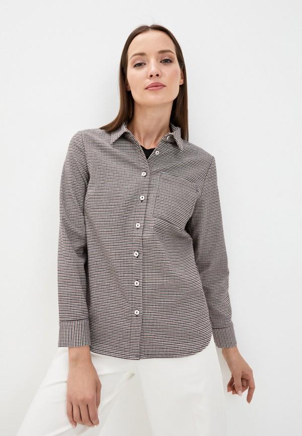 женская рубашка с длинным рукавом savage, серая