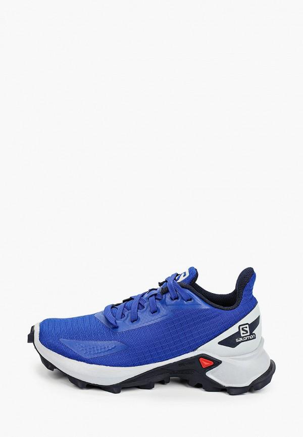 кроссовки salomon для мальчика, синие