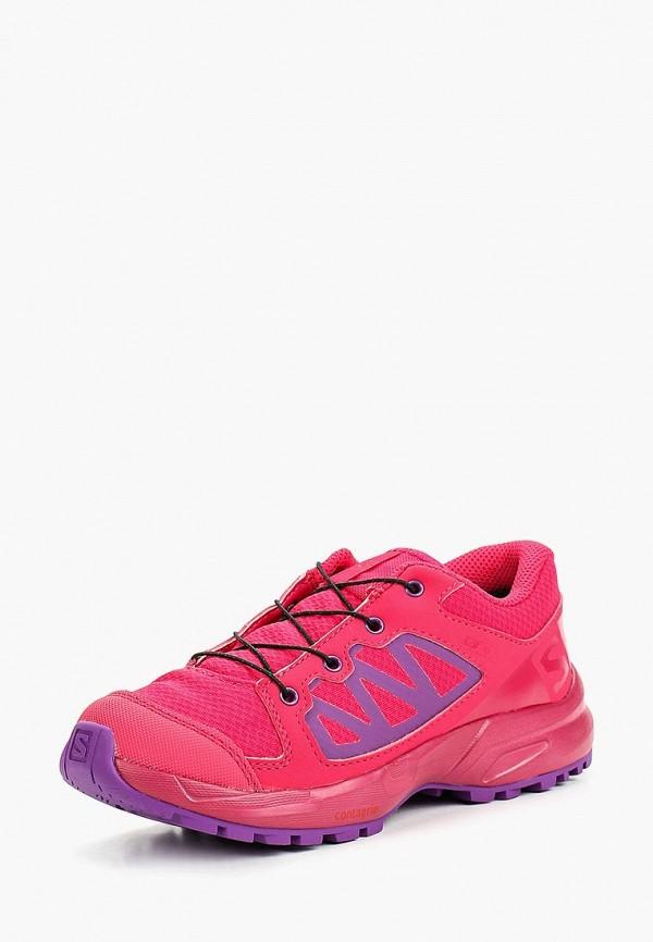 кроссовки salomon для девочки, розовые