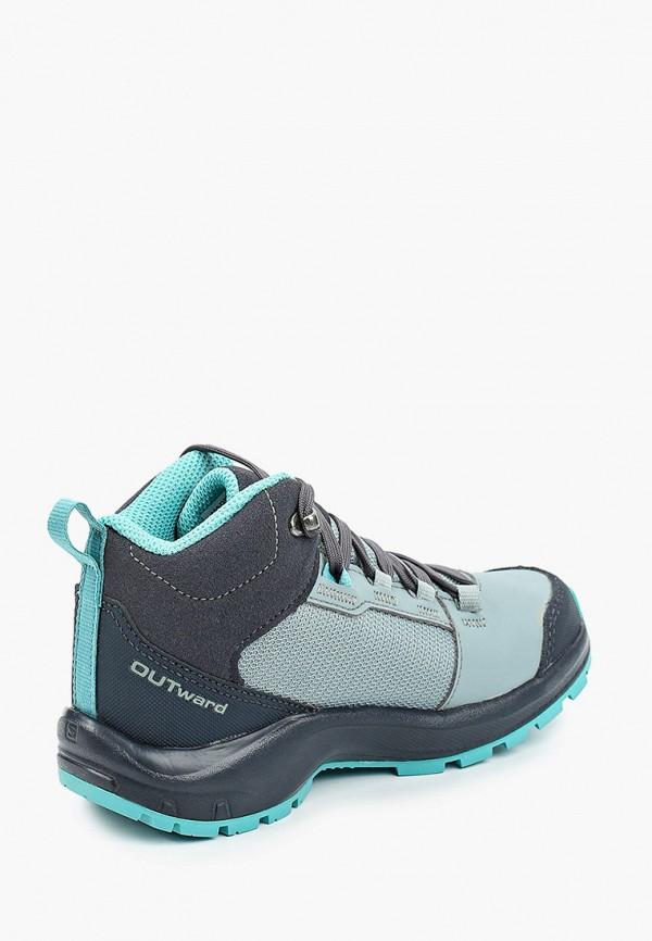 Ботинки для мальчика трекинговые Salomon L40972400 Фото 3