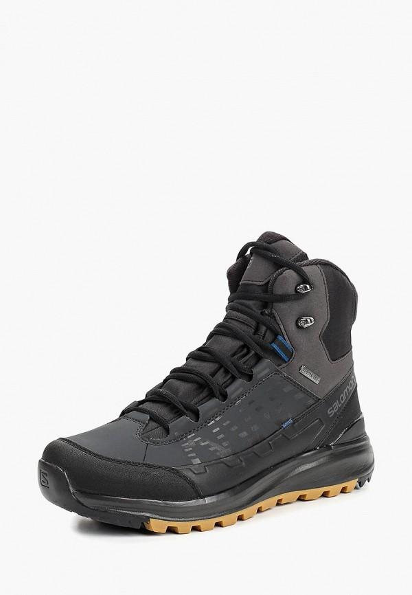 Купить Ботинки Salomon, KAÏPO MID GTX®, SA007AMBOIJ1, черный, Осень-зима 2018/2019