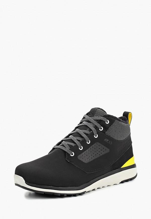 мужские ботинки salomon, черные