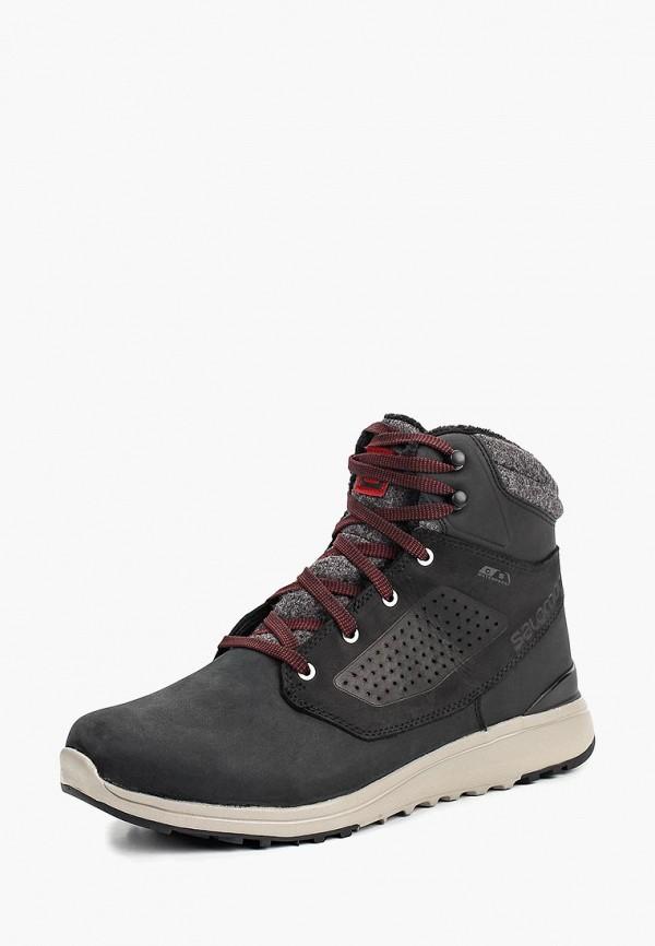 Купить Ботинки Salomon, UTILITY WINTER CS WP, SA007AMBOIJ9, черный, Осень-зима 2018/2019