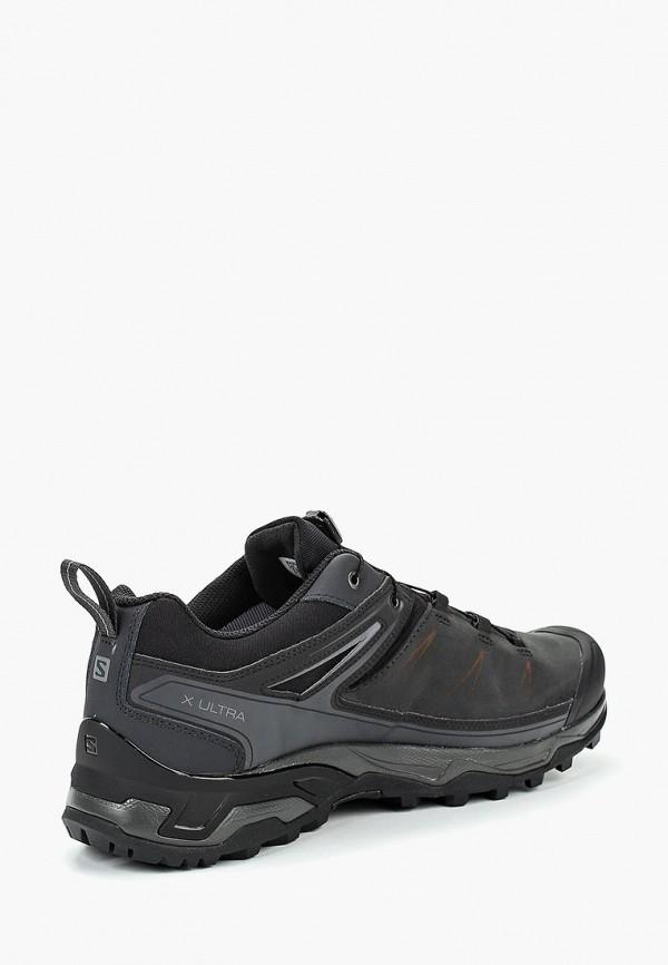 Фото 2 - мужские кроссовки Salomon серого цвета