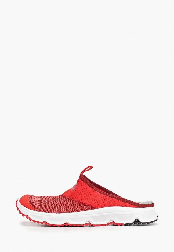 мужские сандалии salomon, красные