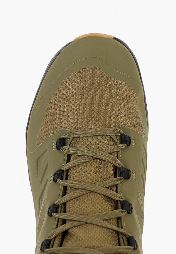 Фото 4 - Ботинки трекинговые Salomon цвета хаки