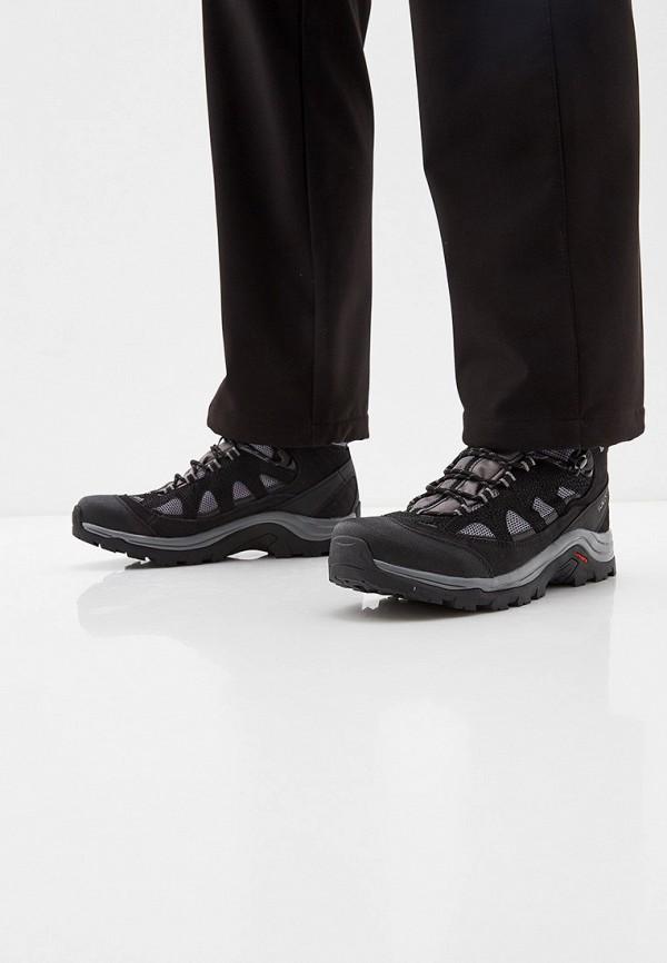 Фото 6 - Ботинки трекинговые Salomon черного цвета