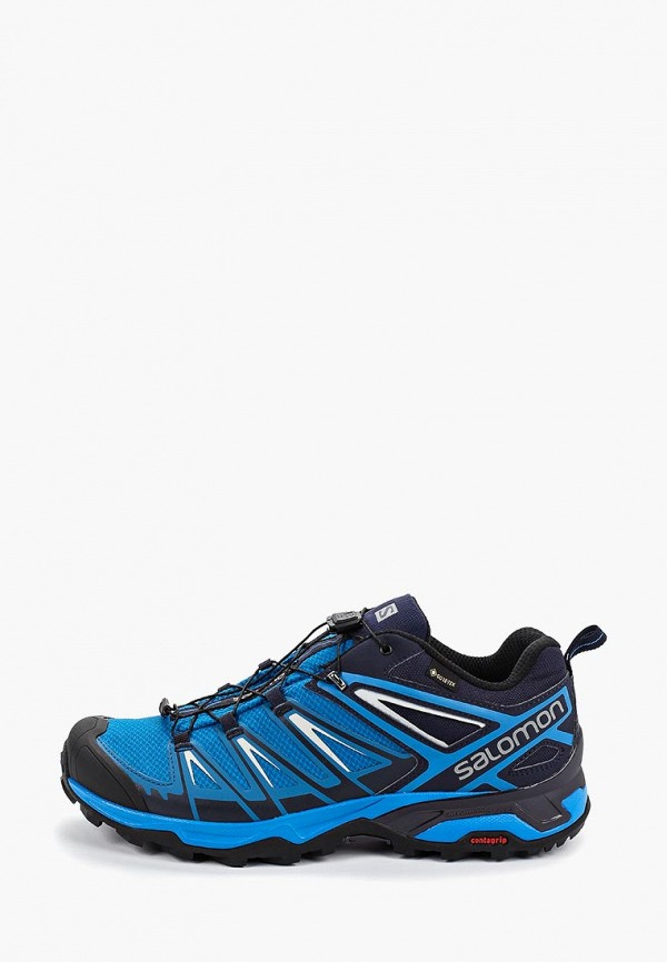 мужские ботинки salomon, синие