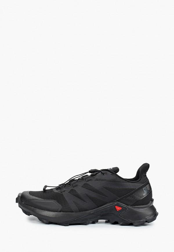 мужские кроссовки salomon, черные