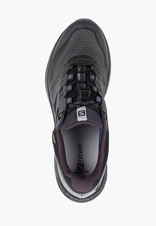 Фото 4 - мужские кроссовки Salomon черного цвета