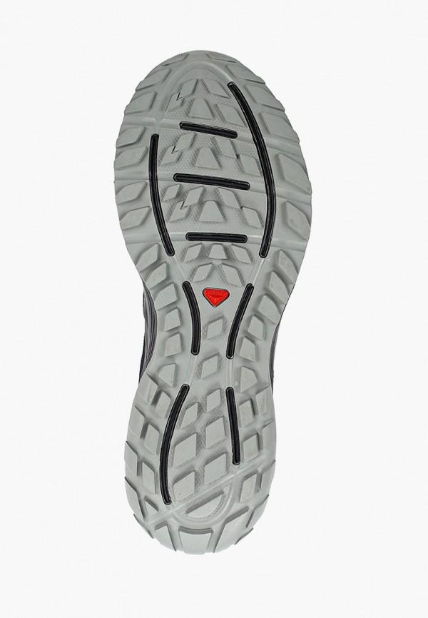 Фото 5 - мужские кроссовки Salomon черного цвета