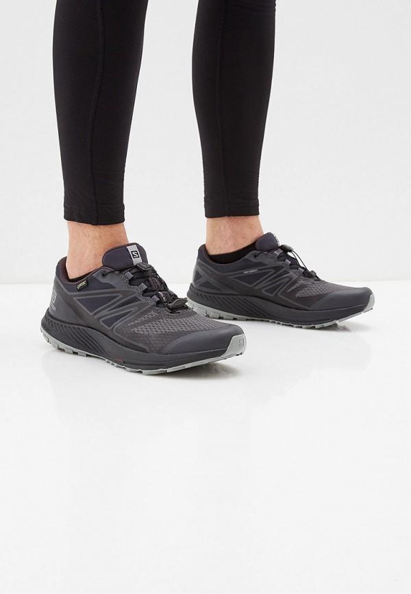 Фото 6 - мужские кроссовки Salomon черного цвета