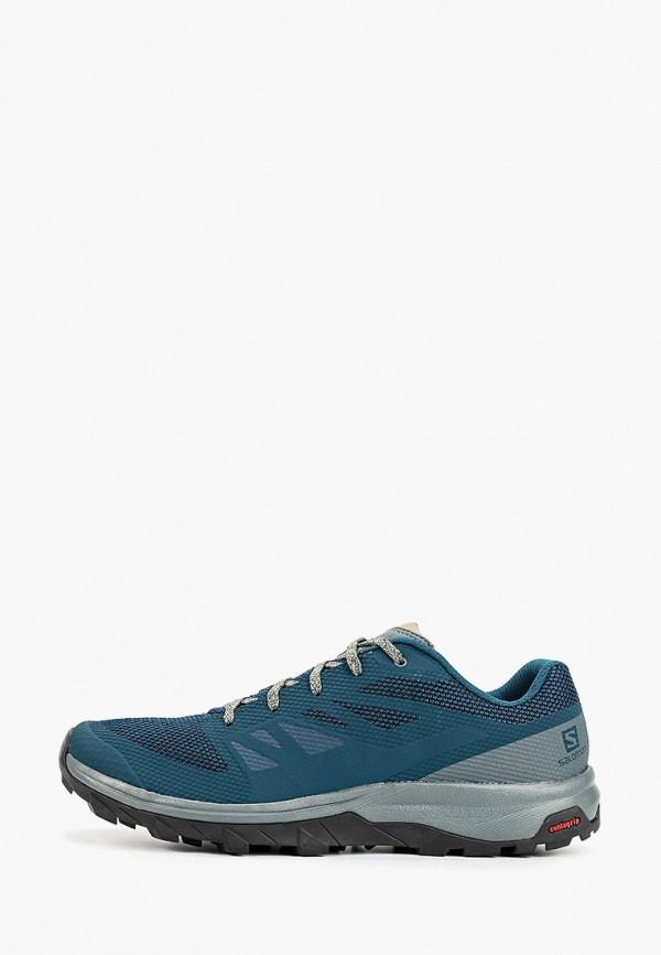 Фото - Мужские кроссовки Salomon бирюзового цвета