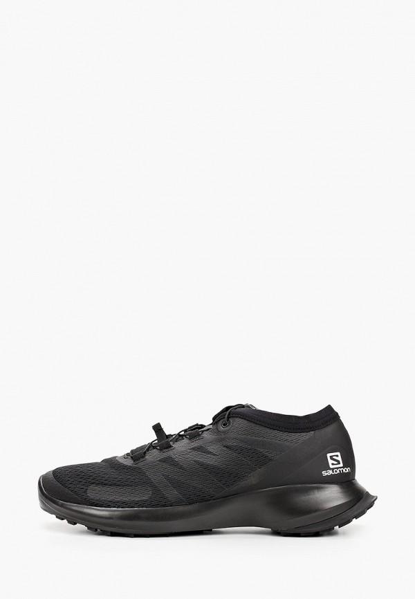 мужские низкие кроссовки salomon, черные